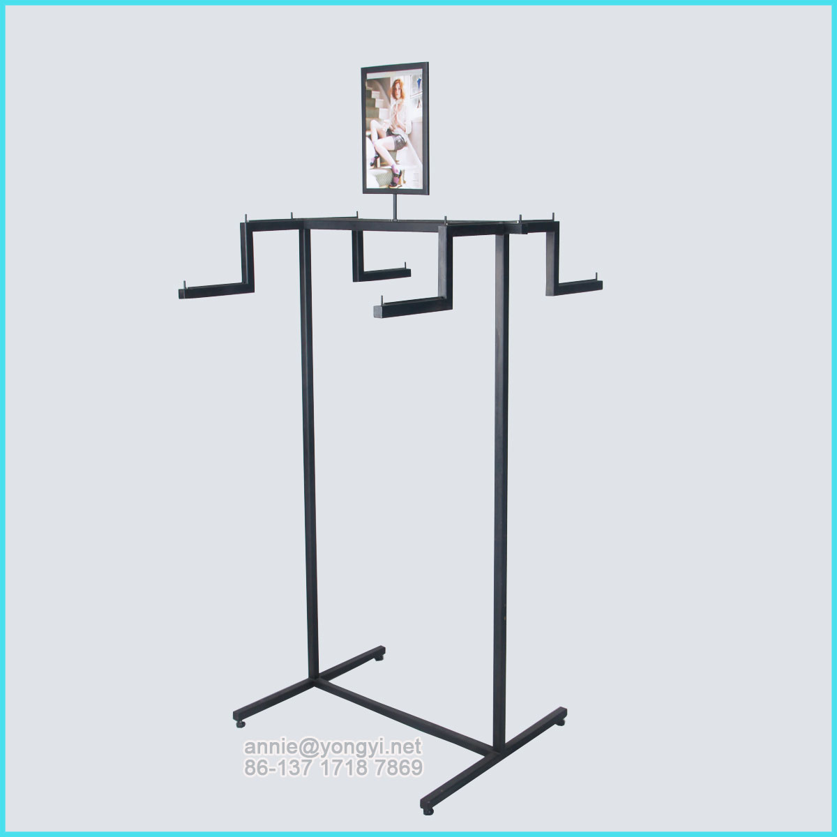 OEM high quality retail store clothes hanger rack