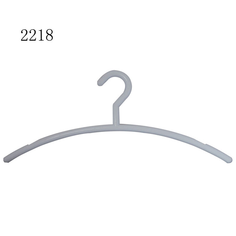 Display adult plastic clothes rack hangers