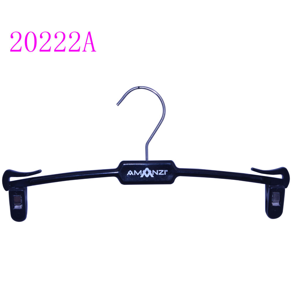 mini lingerie plastic hanger for underwear with clips