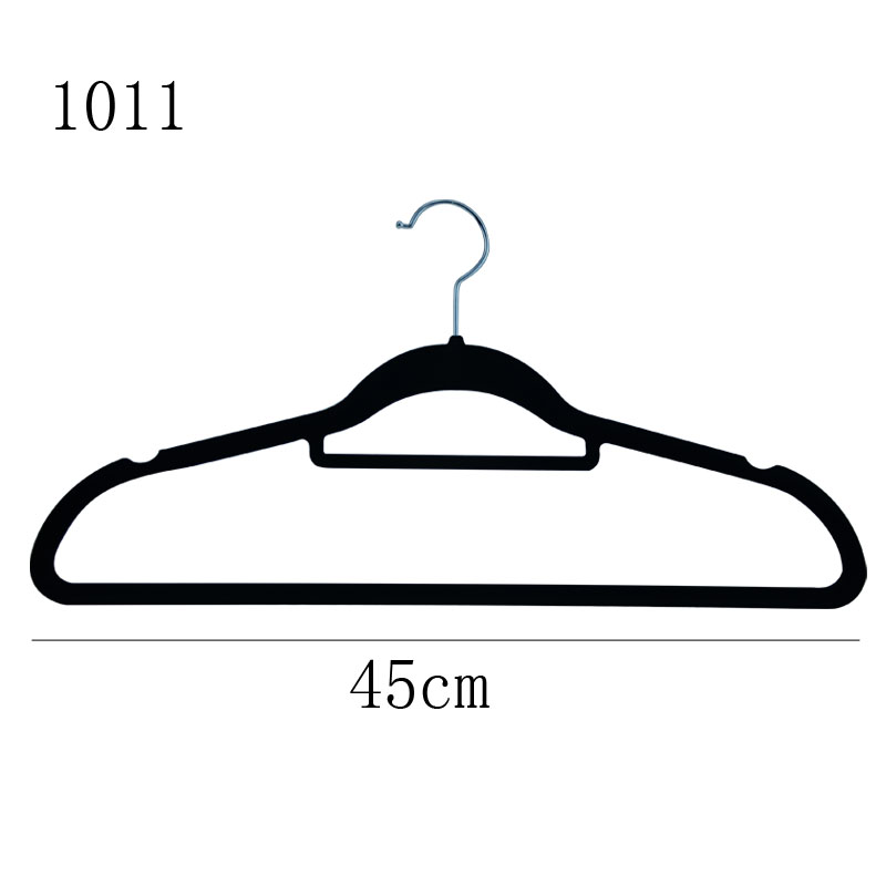 Black flocked single line flat shirt woolen clothing advanced drying rack