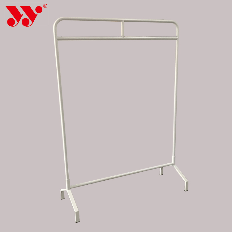 Simple Flooring Stand Supermarket Mall Clothing  Rack